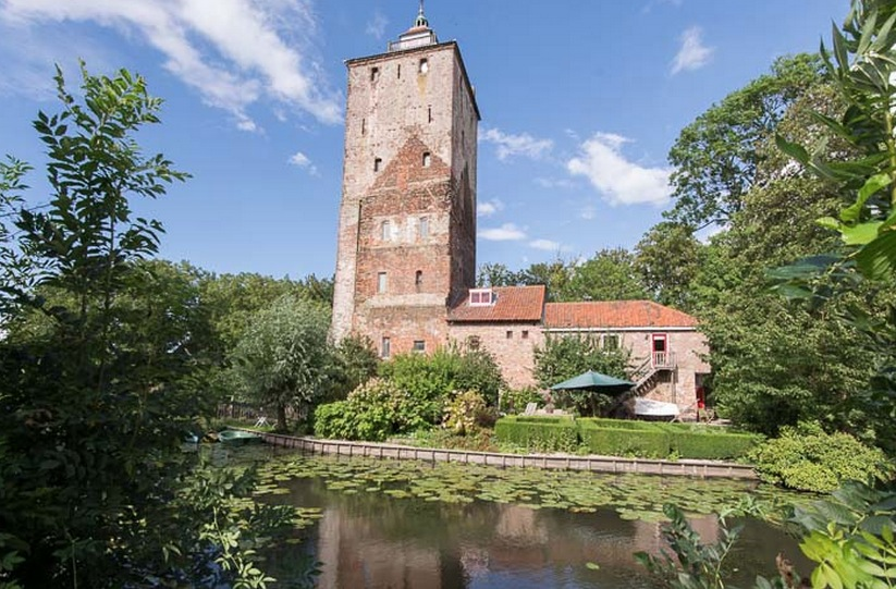 Hamtoren gezien vanaf spoorlijn / bron: redres Erfgoed makelaars