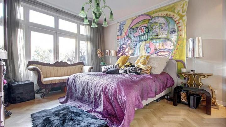 Huis Mari van de Ven in Amsterdam / bron: bekendeburen.nl en MTH Makelaars