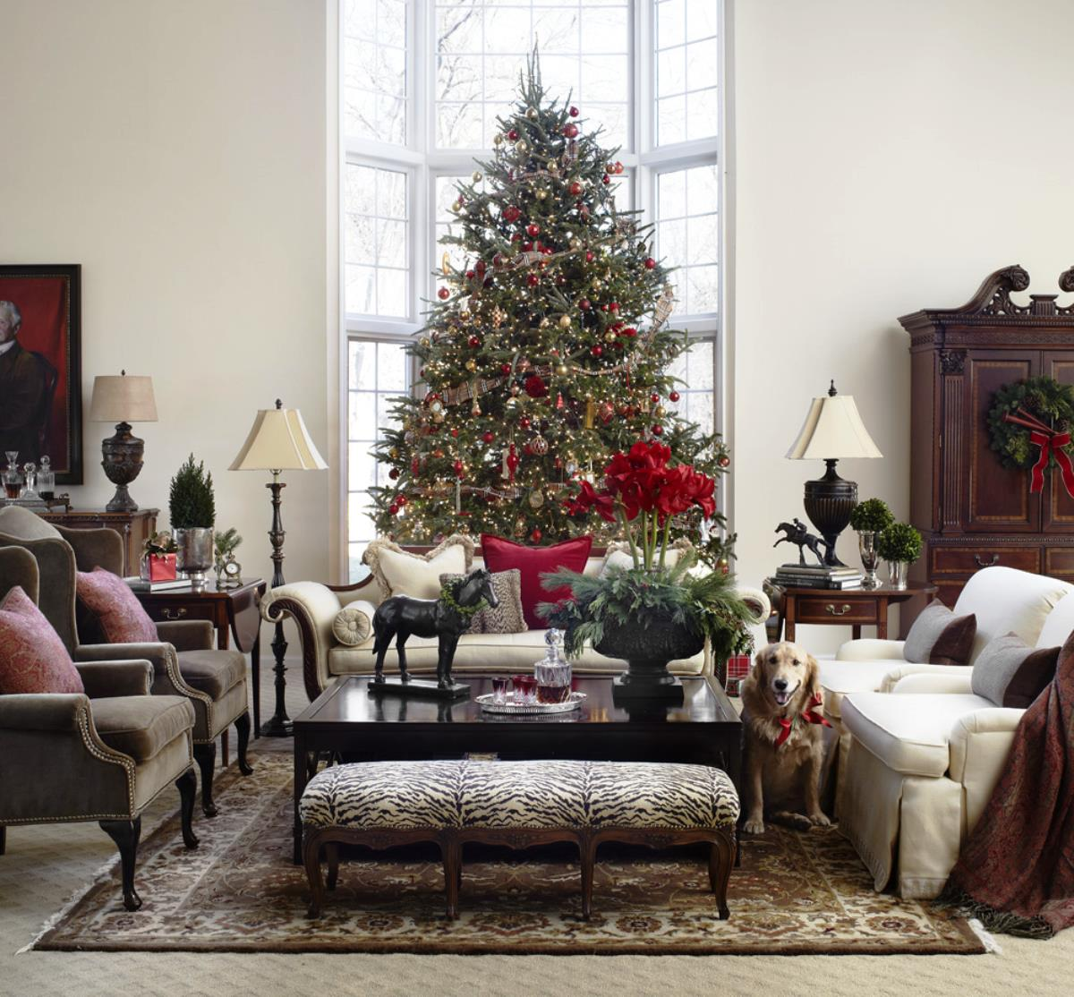 Inspiratie studio columbo page 2 for Pictures of living rooms decorated for christmas