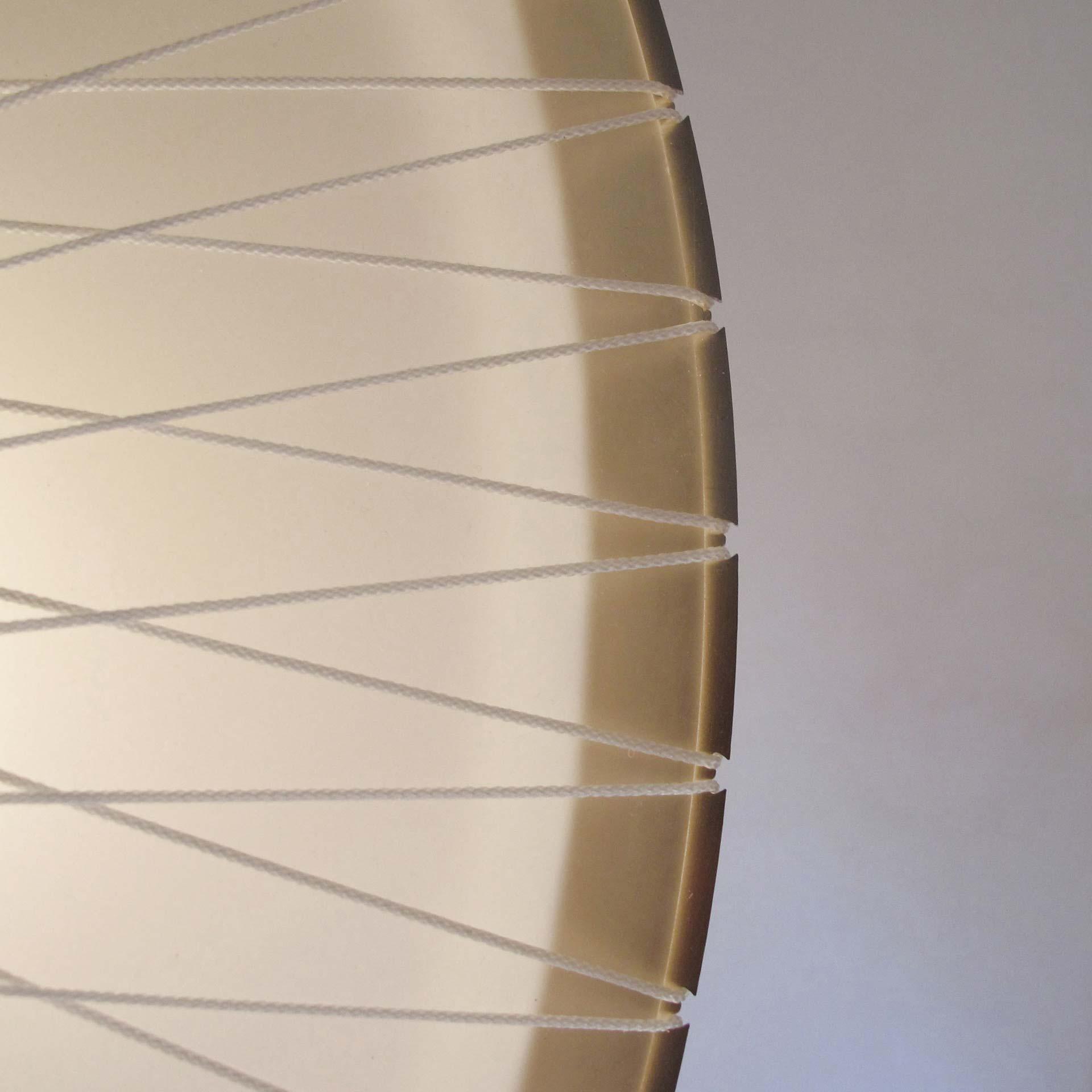 Detail van de lamp