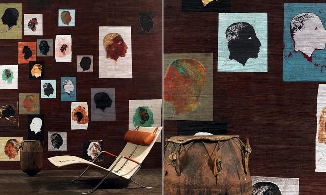 Behang 'Cap vert' uit de Eldorado collectie van Elitis